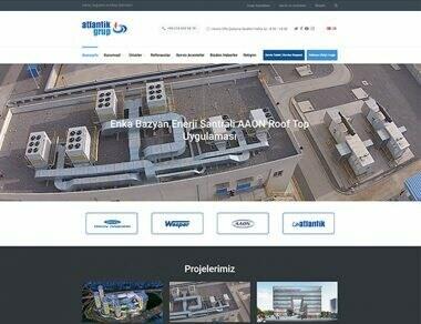 Atlantik Grup Web Sitesi