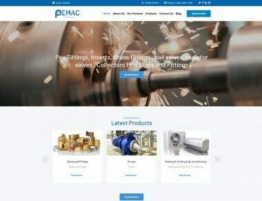 Pemac Web Sitesi Çalışması